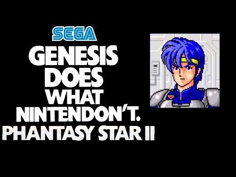 "Sega ""Genesis Does What Nintendon't"" Commercial Phantasy Star II - GTV thumbnail"