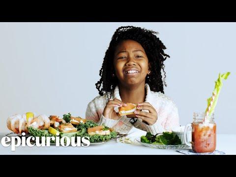 Kids Try 100 Years of Breakfast | Bon Appetit
