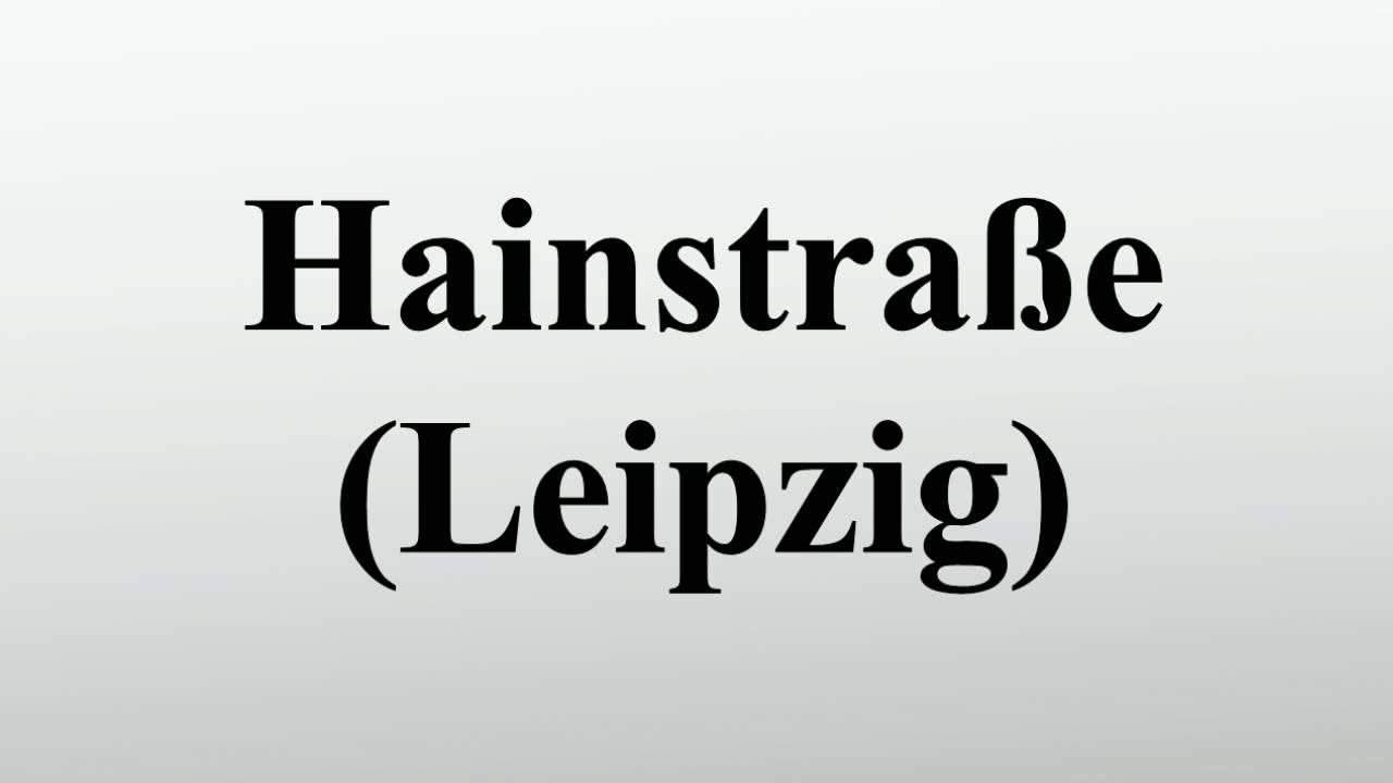 Hainstraße Leipzig