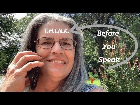 Think Before You Speak - Personal Development thumbnail