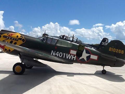 Texas Flying Legends in Anguilla