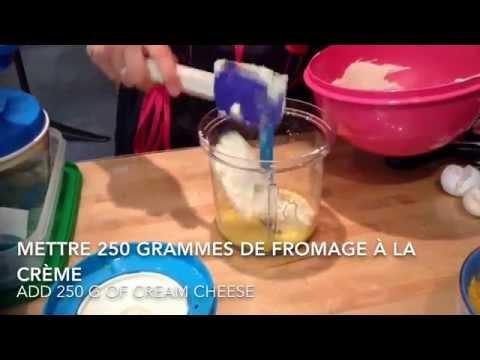 recette-de-dessert-tupperware-facile-de-flan-aux-pêches-/-peach-flan