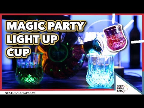 The Ultimate Party Cups - Liquid Activated Light Up Cup - Next Deal Shop