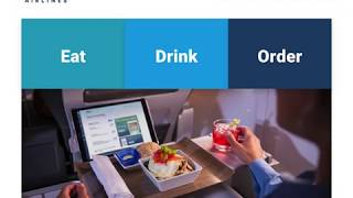 Alaska Airlines Inflight Menu 2