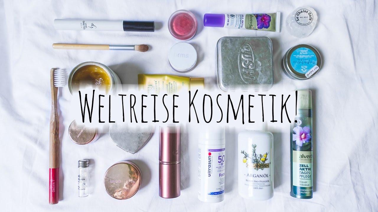meine kosmetik auf unserer weltreise naturkosmetik vegan zero waste deutsch youtube. Black Bedroom Furniture Sets. Home Design Ideas