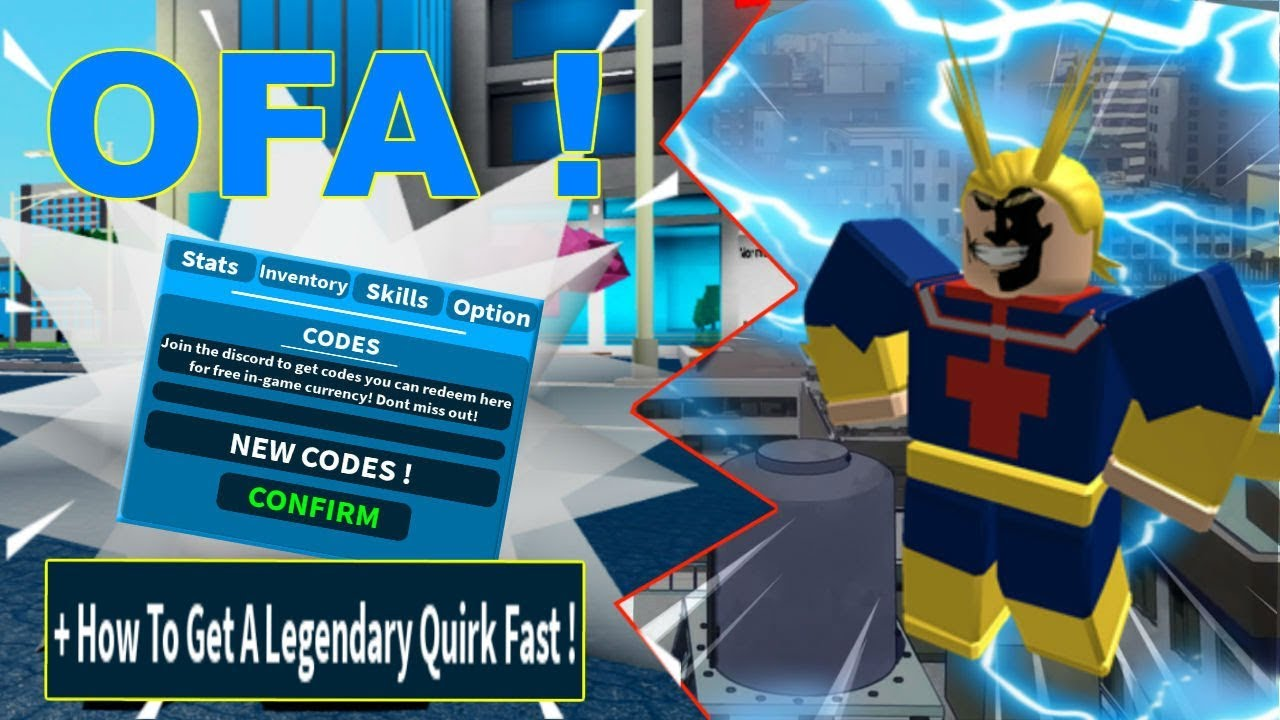 New Codes + How To Get Any Legendary Quirk Fast ! | Boku ...