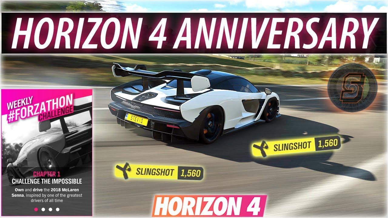 #Forzathon HORIZON 4 ANNIVERSARY | SLINGSHOT SKILL Forza Horizon 4 Spring Weekly Forzathon Challenge thumbnail