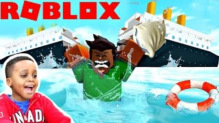 SHIP SPLIT IN HALF! - Let's Play Roblox Pillow Fight Stimulator   Playonyx