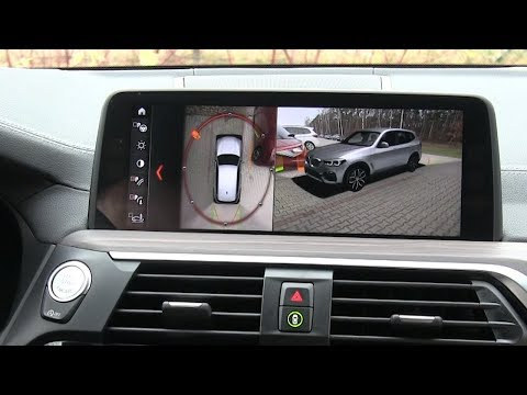 BMW X3: 3D Surround View (360 degree view cameras) :: [1001cars]