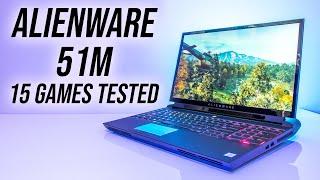 Alienware 51m Gaming Benchmarks - 4K/1440p/1080p