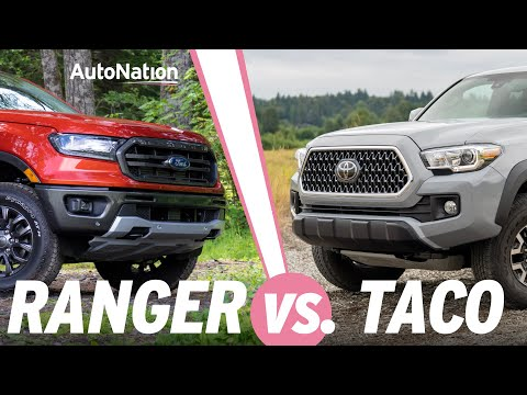 2019 Ford Ranger vs Toyota Tacoma: Which is Best? #autonationdrive