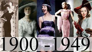Moda si frumusetea in prima jumatate a secolului XX Fashion in the 20th century (part I)
