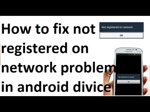 FIX Not Registered On Network Note 2 N7100   FunnyCat TV