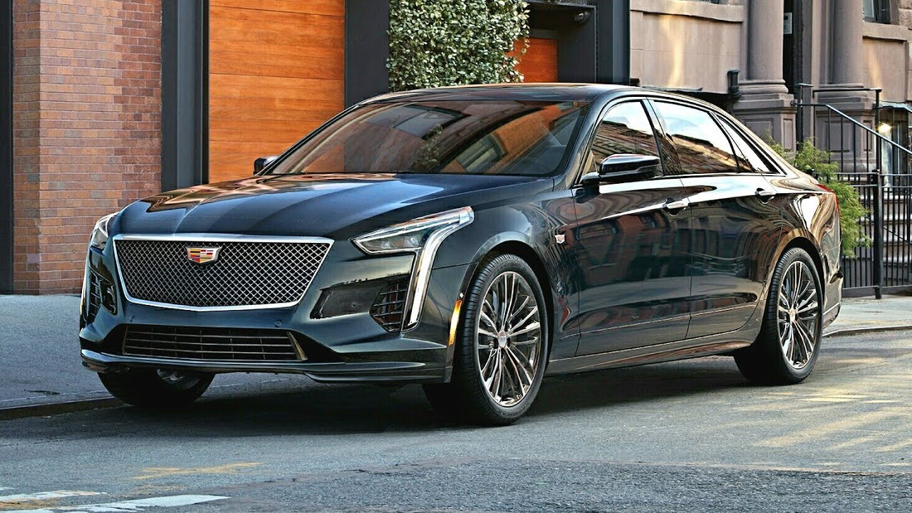 2019 Cadillac Ct6 V Sport Rival Of Mercedes S Cl And Bmw 7 Series