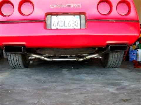 C4 Corvette 383 LT4 Hotcam AVI