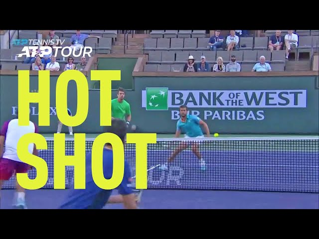 Hot Shot: Mektic Does It All At Net In Indian Wells 2019
