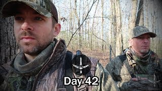 KENTUCKY HARDWOODS TURKEY HUNTING_ SURPRISE LONGBEARDS- Pinhoti Project Day 42