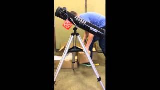 Телескопів Sky-Watcher AZ: збірка і налаштування телескопа – відеоінструкція для початківців