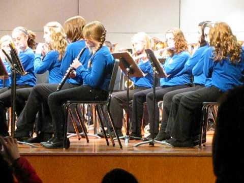 Delong Middle School 8th Grade Band - Grizzly Bear Rag