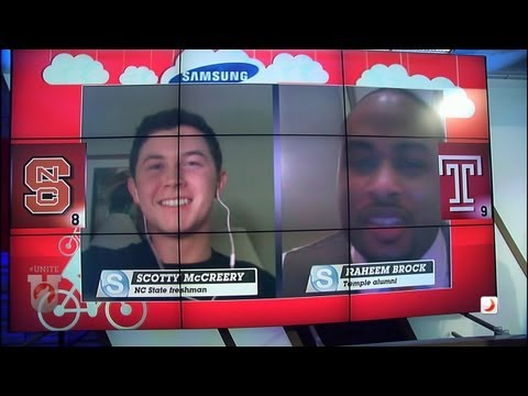 UNITE: Idol Winner Scotty McCreery and NFL DE Raheem Brock