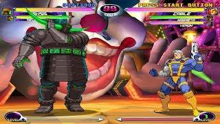 Marvel vs. Capcom 2 [DC] - play as 1st Abyss