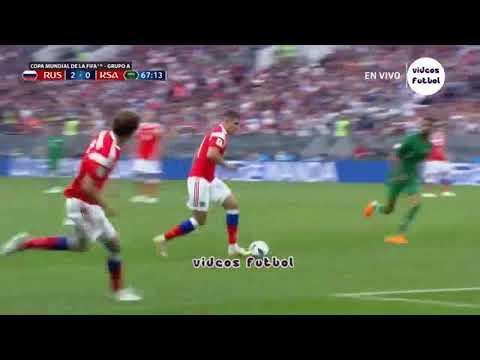 Rusia Vs Arabia Saudita (5-0) Resumen Completo Mundial Rusia 2018