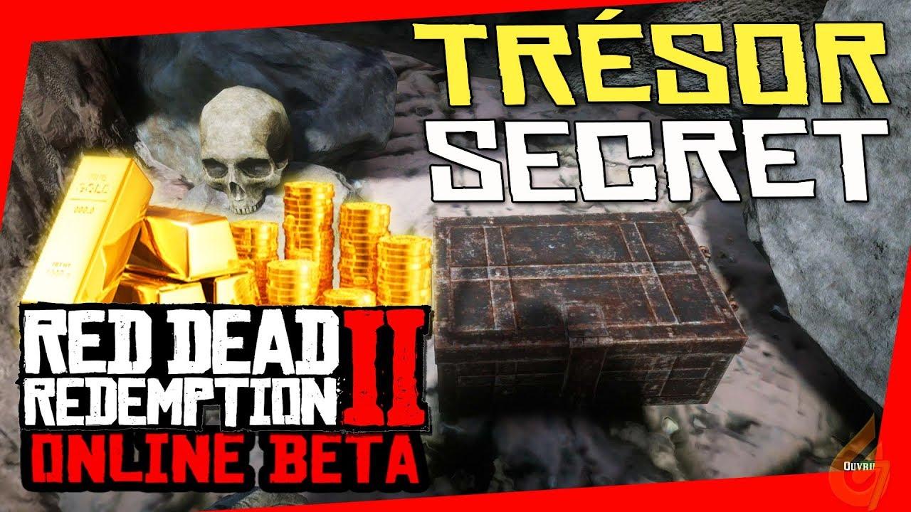 Carte Au Tresor New Bone.Secret Gold Treasure Map And Money Location On Red Dead Redemption 2 Online