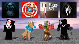 Monster School SEASON 3 ALL EPISODE Minecraft Animations