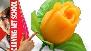 Repeat youtube video ♛ Lesson 15, Fruit & veg Carving, Escultura em frutas e legumes, การแกะสลักผลไม้, 水果雕刻, Ukiran buah
