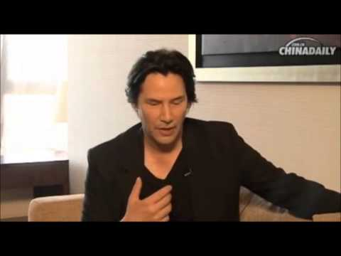 2013 Keanu Reeves, Interview for China Daily