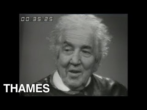 Robert Graves interview | Poet | Writer | Today | 1969