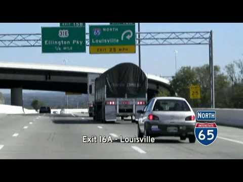 Briley Parkway (TN SPR 155) - I-24 to I-40, Nashville, Tennessee