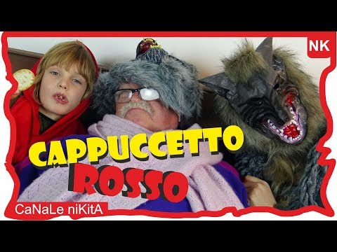 CAPPUCCETTO ROSSO - Favole per bambini - storie italiane - Storie della buonanotte - Canale NIkita
