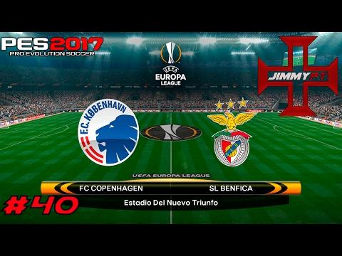 PES 2017 Liga Master #40 Liga Europa FC Copenhagen vs Benfica