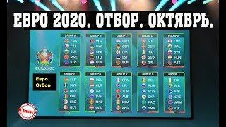 чемпионат Европы 2020. Отборочный турнир. Обзор матчей от 11.06.2019