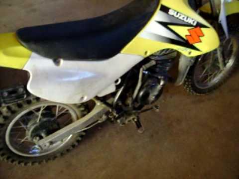 dirtbike 80cc - YouTube