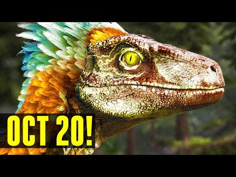 🔥NEW/EXCLUSIVE🔥 ABERRATION RELEASE DATE REVEALED & DEINONYCHUS FIRST LOOK! Ark: Survival Evolved