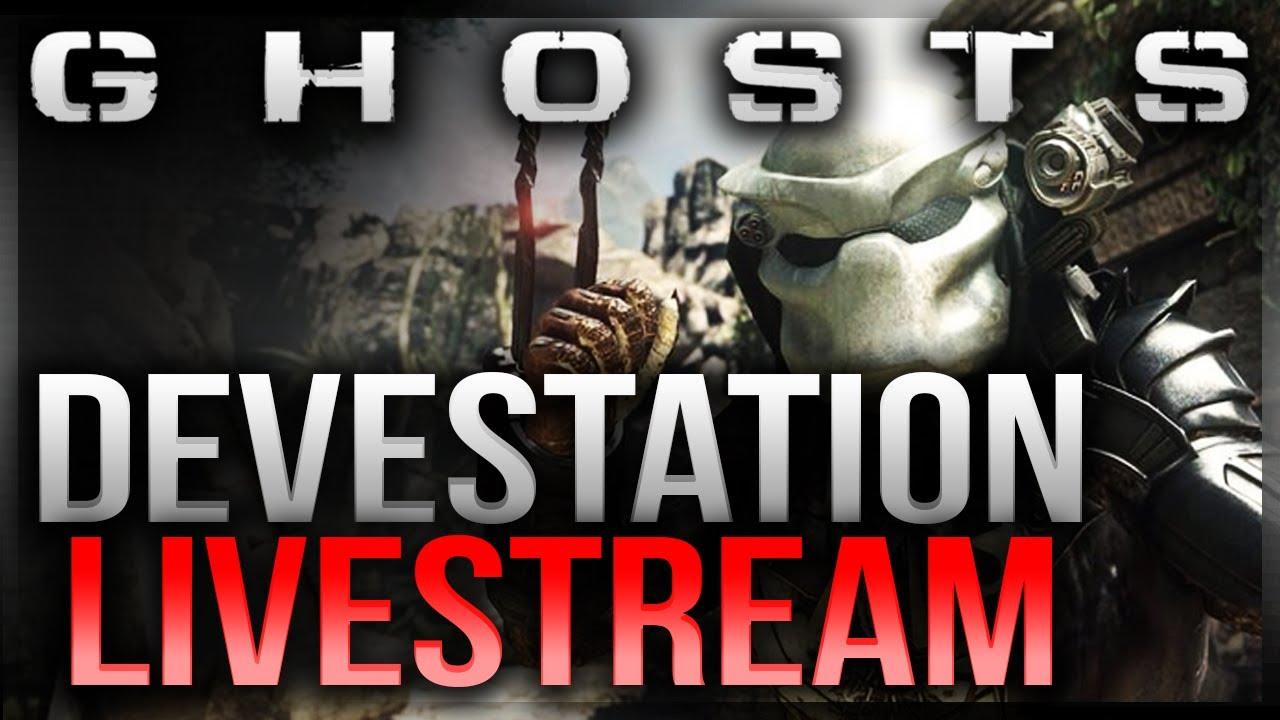 "Call of Duty:Ghosts Livestream - ""DEVASTATION DLC LIVE ... Cod Ghost Devastation Ripper"