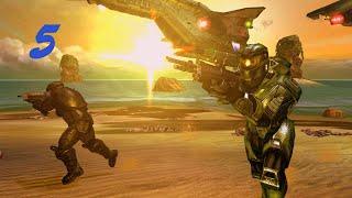 Halo Combat Evolved Часть 5 начинаем уничтожение генераторов