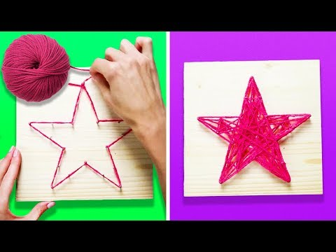 12 CRAFTS WITH YARN ANY CHILD CAN MAKE