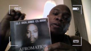 Afromation Album CD Promo- DJ Roland Clark
