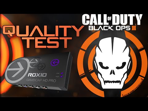 Roxio Game Capture HD Pro Quality Test CoD Black Ops 3