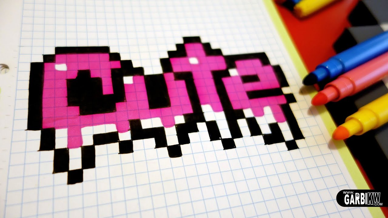 Handmade Pixel Art How To Draw Cute Graffiti Pixelart