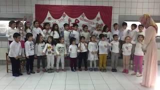 Katre Çocuk 40 Hadisi Ezberliyor Ve Peygamber Şiirini okuyor
