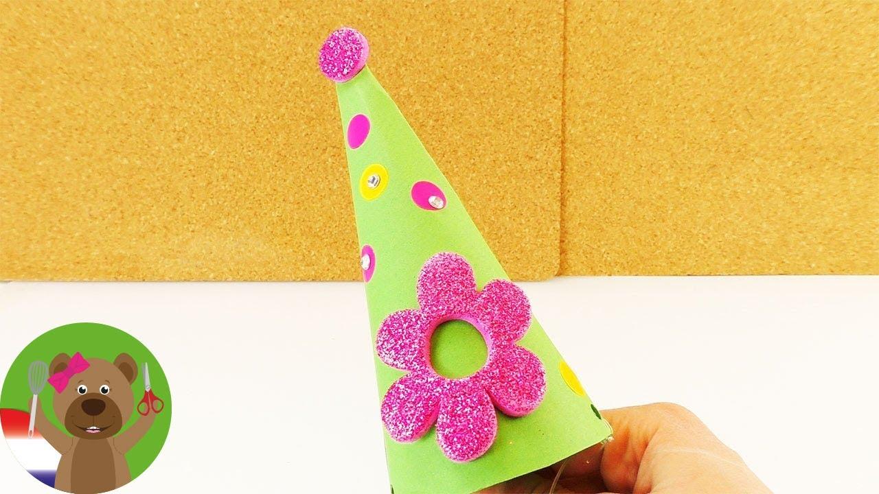 Feesthoedjes Knutselen Voor Kinderfeestjes En Oud Nieuw Heel Makkelijke Diy Voor Kinderen