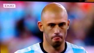 Χιλή - Αργεντινή 4-2 ( πέναλτι)