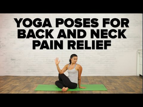 Yoga Poses For Back Neck Pain Relief Youtube