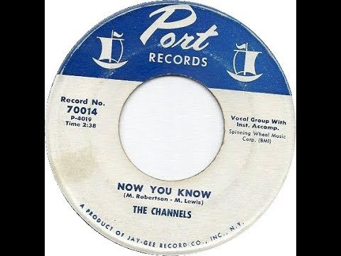 The Channels - Now You Know (1956 Doo Wop Gold)