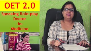 OET Speaking Role-play Doctor-in-Medicine | Super Achievers Abroad Education