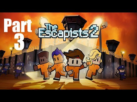 "The Escapists 2 Walkthrough Gameplay Part 3 ""Howdy Partner!!!"""